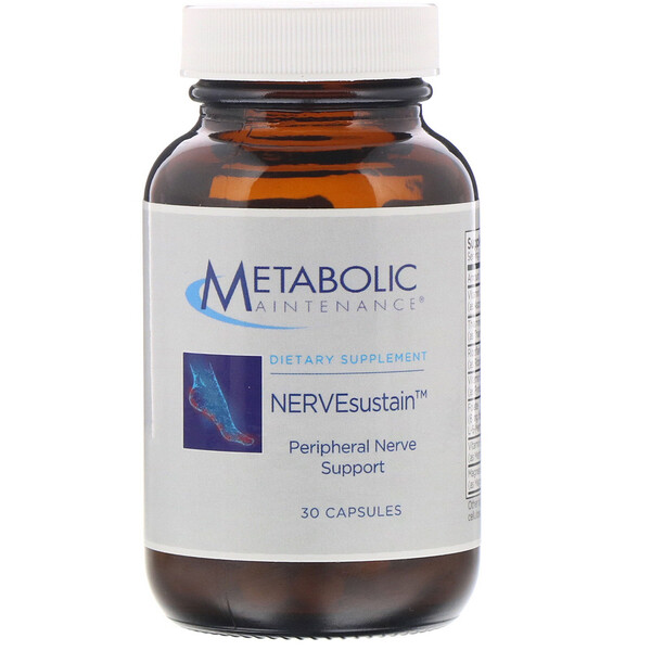 Metabolic Maintenance, NERVEsustain, 30 Capsules