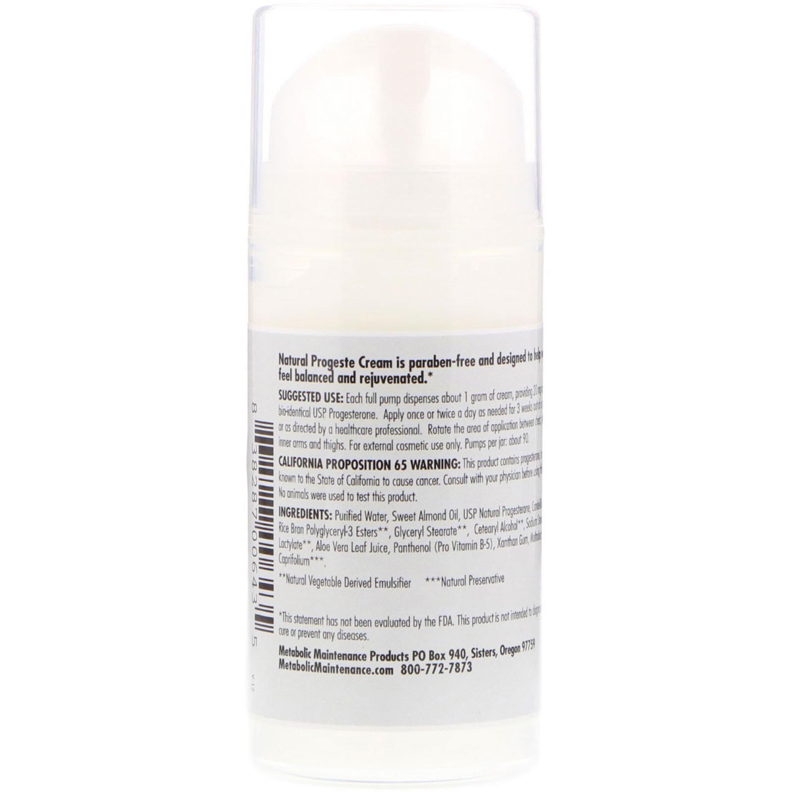 Natural Progesterone Cream Reviews Uk