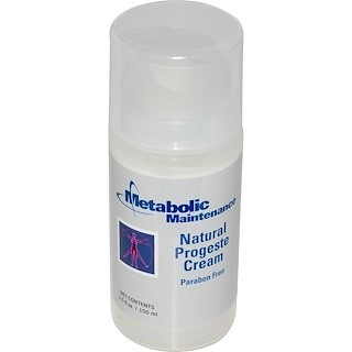 Metabolic Maintenance, Natural Progeste Cream, 3.5 fl oz (100 ml)