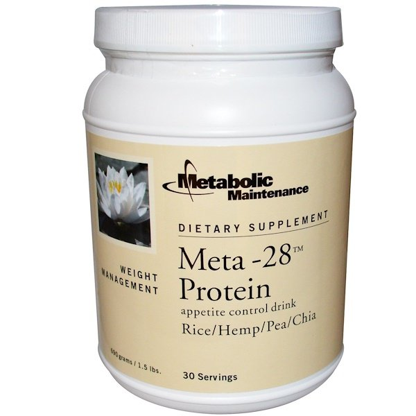 Metabolic Maintenance, Meta-28 Protein, Appetite Control Drink, 1.5 lbs (690 g) (Discontinued Item)