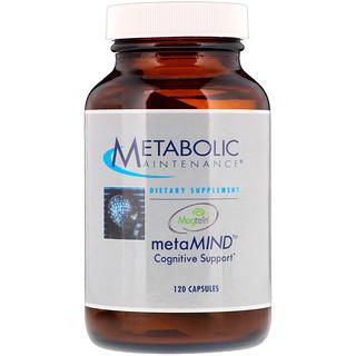 Metabolic Maintenance, MetaMIND, когнитивная поддержка, 120 капсул