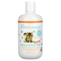 Mild By Nature, детский шампунь и гель для душа «без слез», с ароматом персика, 380мл (12,85жидк.унции)