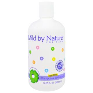 Mild By Nature, For Baby, Tear-Free Shampoo & Body Wash, 12.85 fl oz (380 ml)