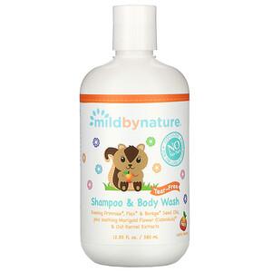 Милд бай нэйчур, Tear-Free Baby Shampoo & Body Wash, Peach, 12.85 fl oz (380 ml) отзывы покупателей
