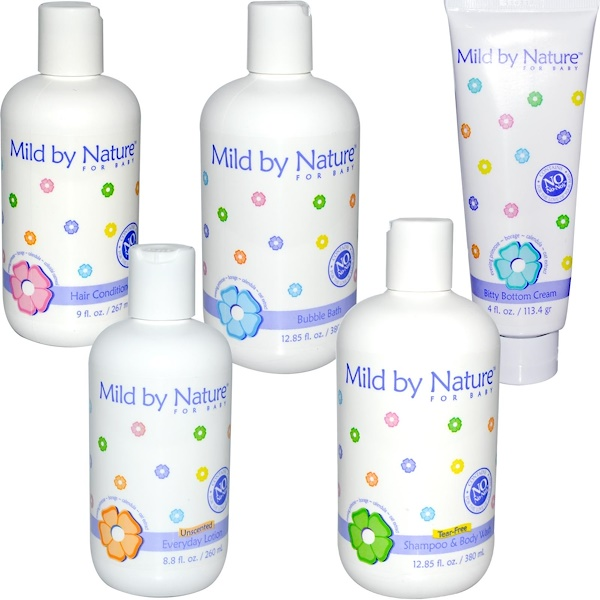 Mild By Nature, For Baby, Spa Kit、5ピース (Discontinued Item)