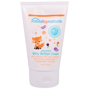 Милд бай нэйчур, Bitty Bottom Cream, Unscented , 4 oz (113 g) отзывы