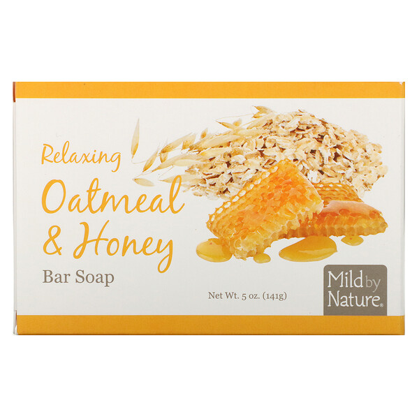Relaxing Bar Soap, Oatmeal & Honey, 5 oz (141 g)