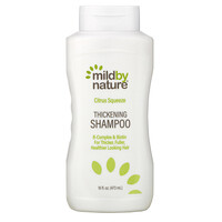 Mild By Nature, Thickening B-Complex + Biotin Shampoo by Madre Labs, No Sulfates, Citrus Squeeze, 16 fl oz (473 ml)