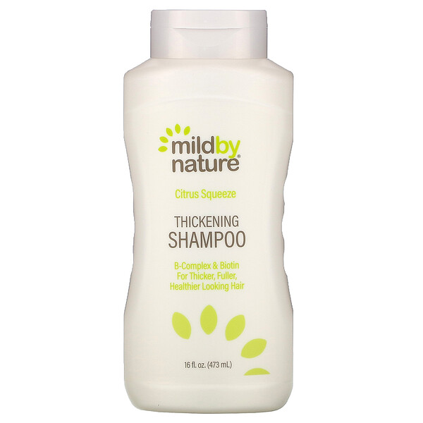 Thickening B-Complex + Biotin Shampoo by Madre Labs, No Sulfates, Citrus Squeeze, 16 fl oz (473 ml)