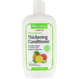 Mild By Nature, Thickening B-Complex + Biotin Conditioner، Citrus Squeeze، مقدار 14 أوقية سائلة (414 مل)