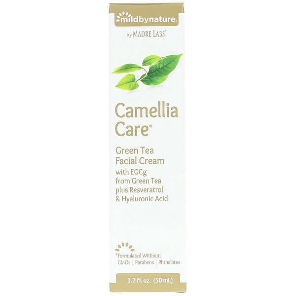 Camellia Care, EGCG Green Tea Skin Cream, 1.7 fl oz (50 ml)