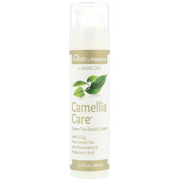 Mild By Nature, Camellia Care, EGCG Creme de chá verde para pele, 50 ml (1,7 fl oz)