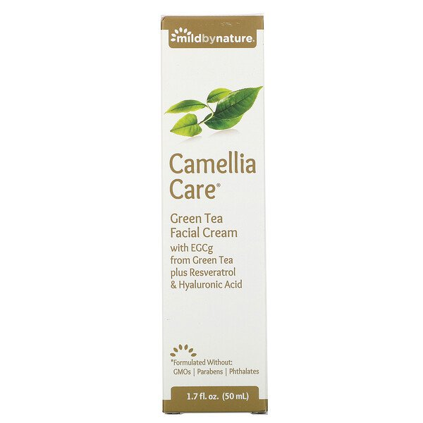 Mild By Nature, Camellia Care, EGCG-Hautcreme mit grünem Tee, 50 ml (1,7 fl. oz.)