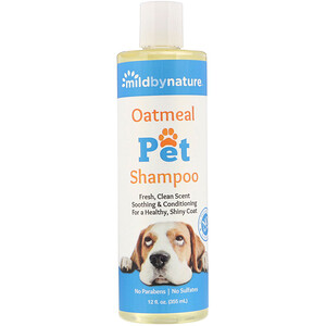 Милд бай нэйчур, Oatmeal Pet Shampoo, 12 fl oz (355 ml) отзывы покупателей