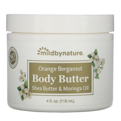 Купить Mild By Nature Масло для тела с апельсином и бергамотом, 118мл (4жидк.унции)