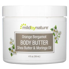 Mild By Nature, 香橙佛手柑身體乳霜,4 液量盎司(118 毫升)