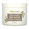 Mild By Nature, Orange Bergamot Body Butter, 4 fl oz (118 ml)