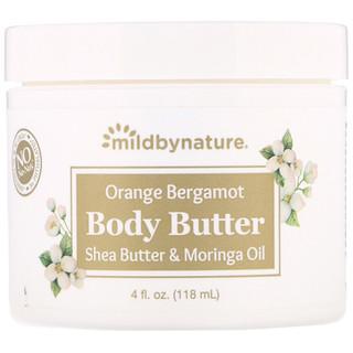 Mild By Nature, Orange Bergamot Body Butter, 4 fl oz (118 ml)