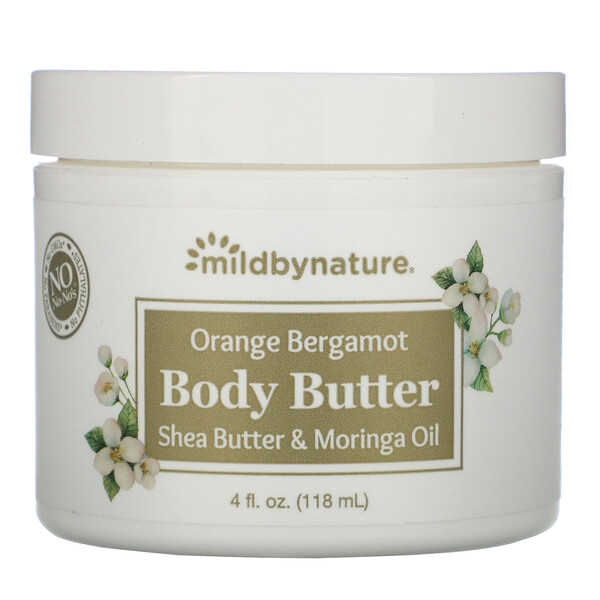 Orange Bergamot Body Butter, 4 fl oz (118 ml)