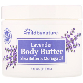 Mild By Nature, Lavender Body Butter, 4 fl oz (118 ml)
