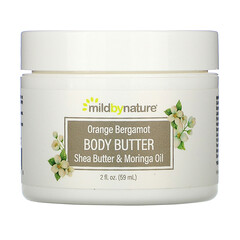 Mild By Nature, 香橙佛手柑身體乳霜,2 液量盎司(59 毫升)