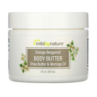 Mild By Nature, Orange Bergamot Body Butter, 2 fl oz (59 ml)