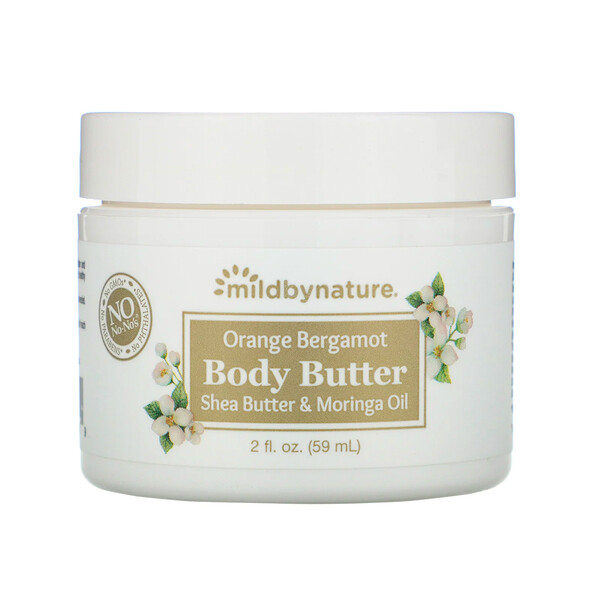 Orange Bergamot Body Butter, 2 fl oz (59 ml)