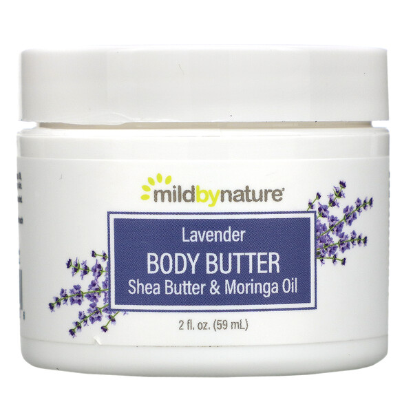 Mild By Nature, Beurre corporel à la lavande, 59 ml (2 fl oz)