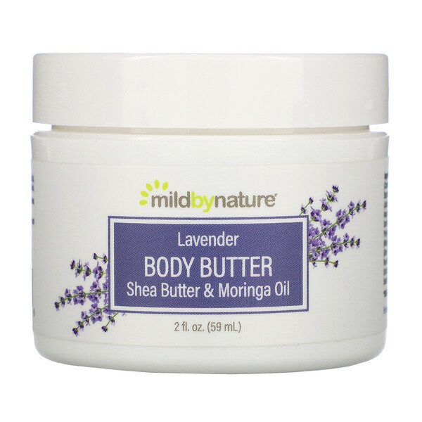 Mild By Nature, Lavender Body Butter, 2 fl oz (59 ml)