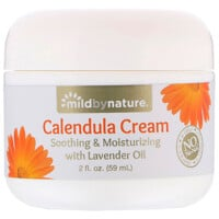 Mild By Nature, Creme de Calêndula, frasco de 2 oz (59 ml)