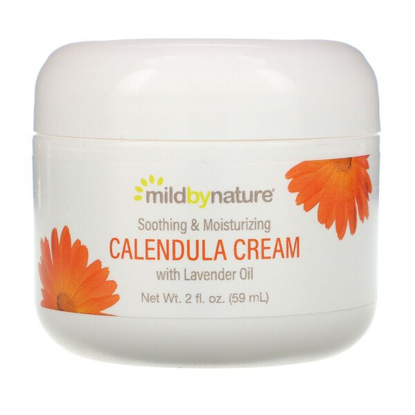 Mild By Nature, Crema de caléndula, 2 fl oz (59 ml)