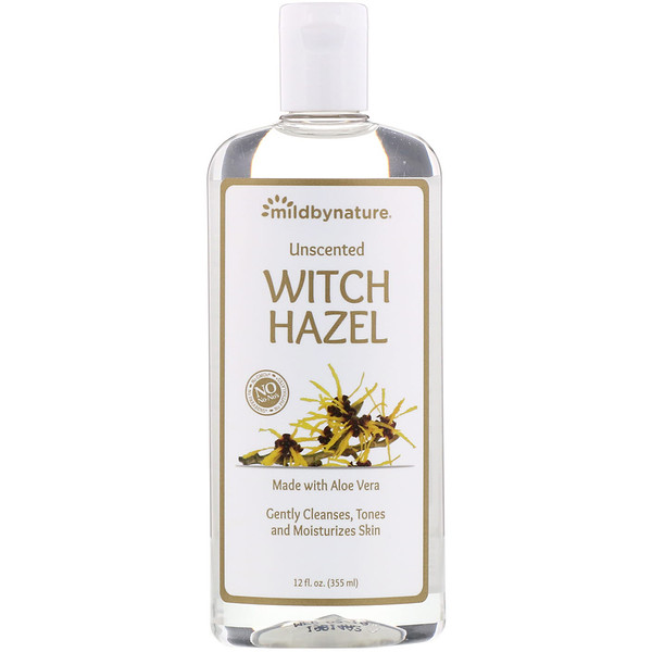 Witch Hazel, Unscented, Alcohol-Free, 12 fl oz (355 ml)
