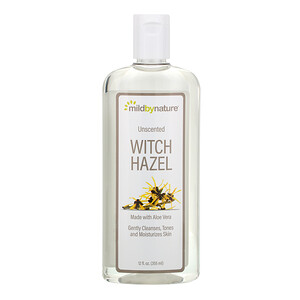 Милд бай нэйчур, Witch Hazel, Unscented, Alcohol-Free, 12 fl oz (355 ml) отзывы покупателей