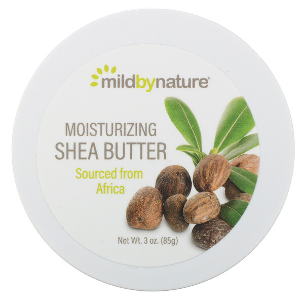 Mild By Nature, Moisturizing Shea Butter, 3 oz (85 g)