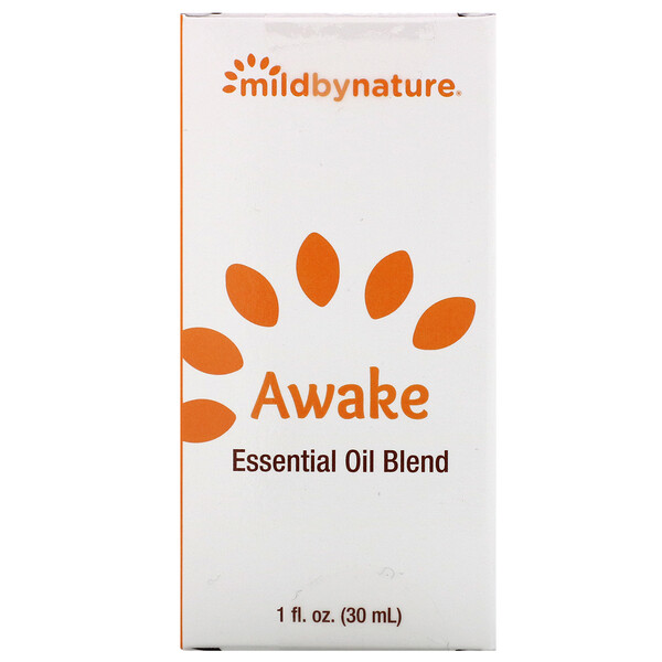 Mild By Nature, Awake, Essential Oil Blend, 1 oz