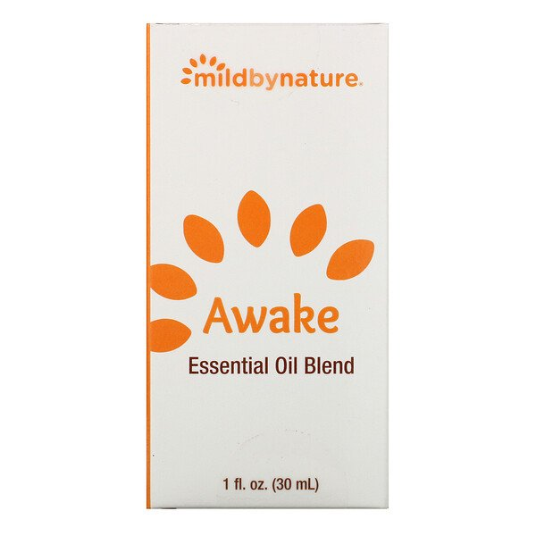 Mild By Nature, Awake, Mistura de Óleo Essencial, 1 oz