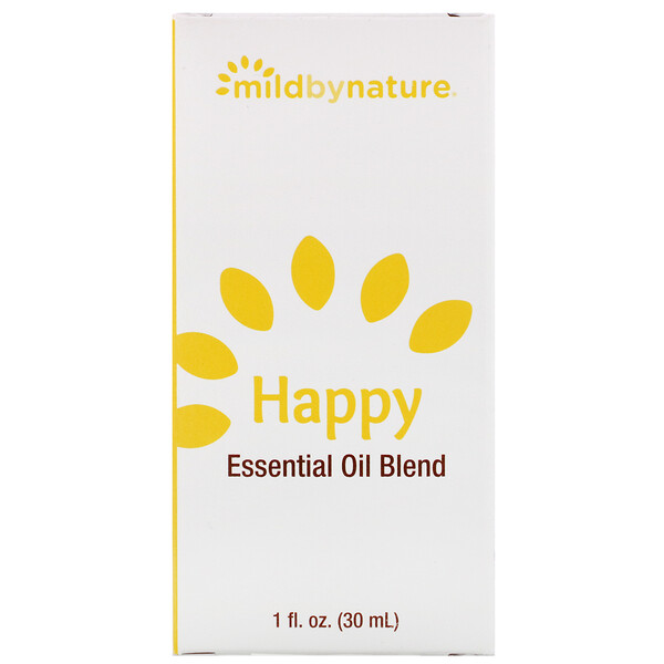 Mild By Nature, Happy, Essential Oil Blend, 1 oz