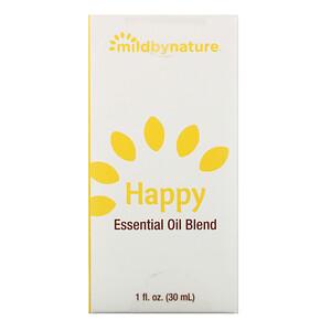 Милд бай нэйчур, Happy, Essential Oil Blend, 1 oz отзывы покупателей