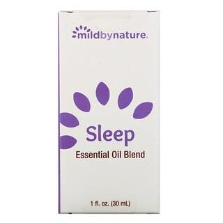 Mild By Nature, 睡眠,精油混合,1 盎司