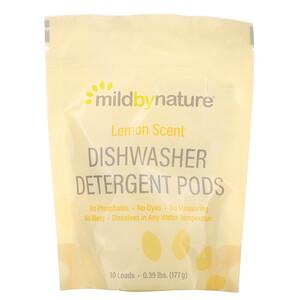Милд бай нэйчур, Automatic Dishwashing Detergent Pods, Lemon Scent, 10 Loads, 0.39 lbs, 6.24 oz (177 g) отзывы покупателей