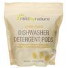 Mild By Nature, Automatic Dishwashing Detergent Pods, Lemon Scent, 60 Loads, 2.38 lbs, 36.48 oz (1,077 g)