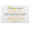 Mild By Nature, Exfoliating Bar Soap, with Marula & Tamanu Oils plus Shea Butter, Citrus, 5 oz (141 g)