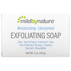 Mild By Nature, Barra de jabón exfoliante, Con aceite de marula y tamanu más manteca de karité, Sin fragancia, 141g (5oz)