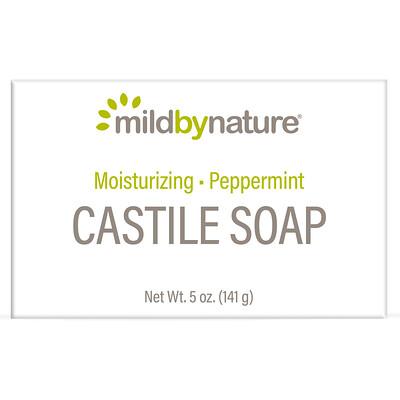 Купить Mild By Nature Кастильское мыло с ароматом перечной мяты, 141 г (5 унций)