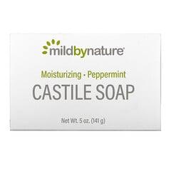 Mild By Nature, Castile Soap Bar, Kastilienseife, Pfefferminze, 141g (5oz.)