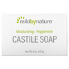 Mild By Nature, Castile Soap Bar, Kastilienseife, Pfefferminze, 141 g (5 oz.)
