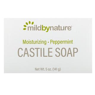 Mild By Nature, Castile Soap Bar, Peppermint, 5 oz (141 g)