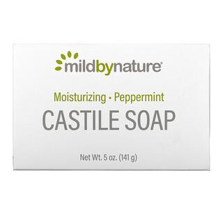 Mild By Nature, Castile Bar Soap, Peppermint, 5 oz (141 g)