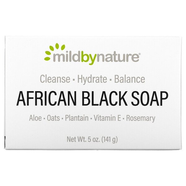 African Black, Bar Soap, With Oats & Plaintains, 5 oz (141 g)