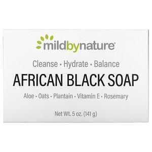 Милд бай нэйчур, African Black, Bar Soap, With Oats & Plaintains, 5 oz (141 g) отзывы покупателей